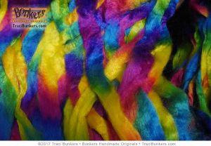 TraciBunkers.com - rainbow acrylic spinning fiber