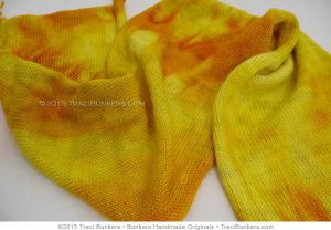 TraciBunkers.com - Scintillation Sock Blanks in Buttercup