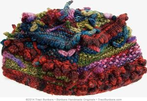 TraciBunkers.com - Four Panel Funky Hat Pattern: knitted