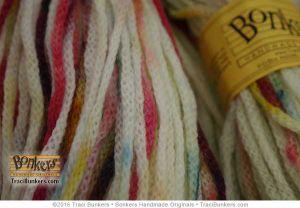 TraciBunkers.com - Hand-dyed Cordelia Yarn: Angel Food Sprinkles
