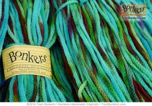 TraciBunkers.com - Hand-dyed Cordelia Yarn: Dragonfly