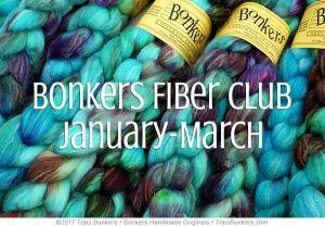 TraciBunkers.com - Bonkers Fiber Club: Jan-March