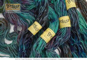 TraciBunkers.com - Hand-dyed Rhapsody yarn in Dragonfly