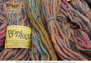 TraciBunkers.com - Hand-dyed Rhapsody yarn in Tutti Frutti