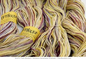 TraciBunkers.com - Scintillation yarn in Easter Parade