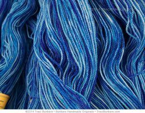TraciBunkers.com-scintillation yarn in naughty violet