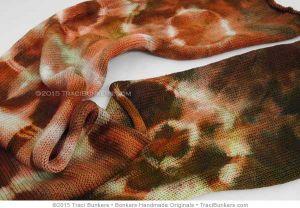 TraciBunkers.com - Superwash Merino 'n Nylon Sock Blanks in Velvet Mango Tango