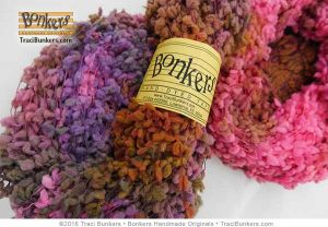 TraciBunkers.com - Terry Tufts Yarn in Flamingo Fest