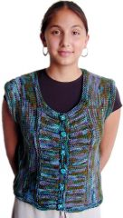 TraciBunkers.com - French Mistress Vest Pattern: knitted