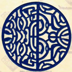 Henna Stencils: Large Medallion (no. 05)