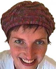 TraciBunkers.com - Reversible Rotating Ridge Hat Pattern: knitted