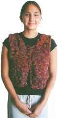 TraciBunkers.com - Scandia Vest Pattern: knitted
