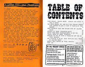 TraciBunkers.com - Tub Legs ArtZine, issue 5, Fall 2005