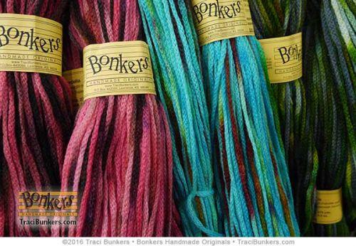 TraciBunkers.com - Hand-dyed Cordelia Yarn