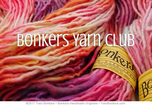 TraciBunkers.com - Bonkers Yarn Club
